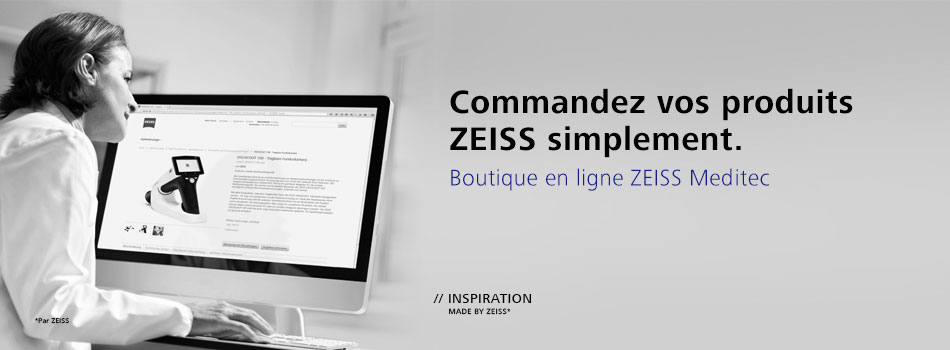 Boutique en ligne ZEISS Meditec France
